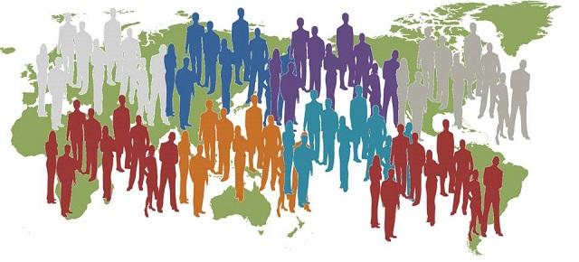 populasi dunia