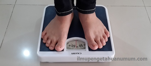 Cara menghitung BMI (Body Mass Index) secara manual