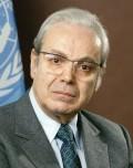 Javier Perez de Cuellar Sekjen PBB 1982-1991