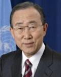 Ban Ki Moon Sekjen PBB saat ini