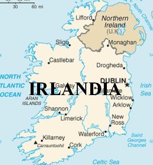 Peta Irlandia
