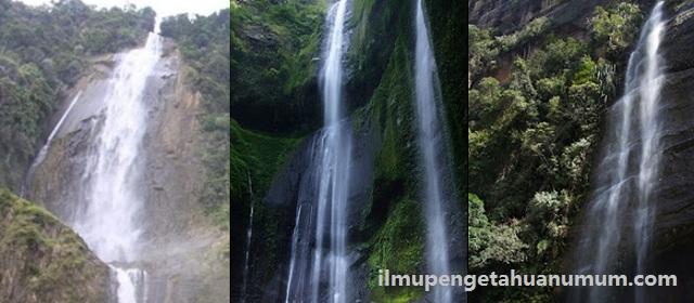 10 Air Terjun Tertinggi di Indonesia