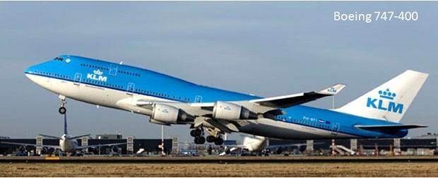 Pesawat Terbang Penumpang Sipil Boeing 747-400