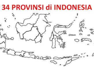 34 Provinsi di Indonesia