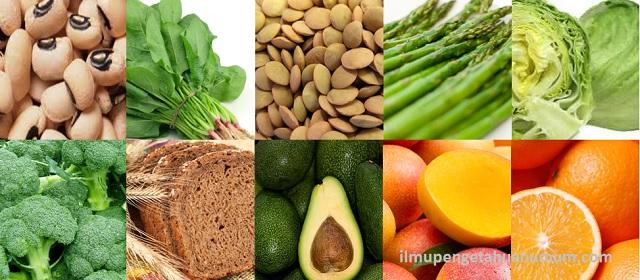 10 Makanan yang mengandung Asam Folat Tertinggi