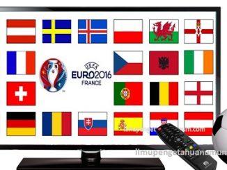Jadwal Piala Eropa 2016 beserta Jam Tayang Siaran Langsung di Televisi