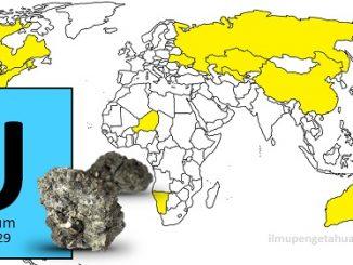 10 Negara Penghasil Uranium di Dunia