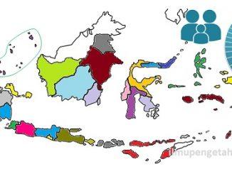 Jumlah Penduduk Indonesia menurut Provinsi