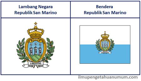 Lambang Negara San Marino dan Bendera San Marino
