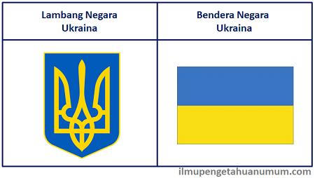 Lambang Negara Ukraina dan Bendera Negara Ukraina