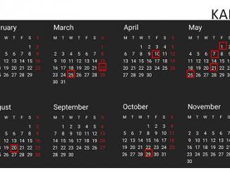 Hari Libur Nasional Indonesia Tahun 2020