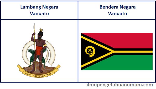 lambang negara dan bendera Vanuatu