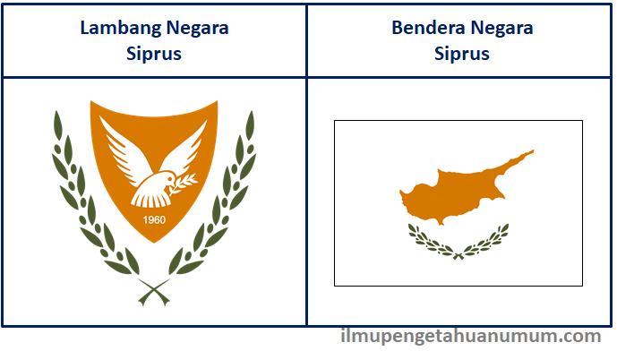 lambang negara Siprus dan bendera Siprus
